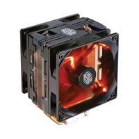 Cooler Para Processador Hyper 212  Turbo Com Led Vermelho - Black Cover- Rr-212Tk-16Pr-R1