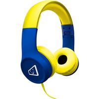 Headphone ELG Joy Safe Kid Estéreo, Com Limitador de Volume, Azul/Amarelo