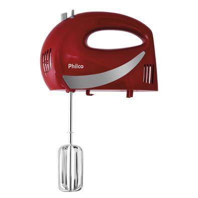 Batedeira Philco Paris Inox Vermelha 350W 220V