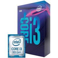 Processador Intel Core i3-9100F Coffee Lake, Cache 6MB, 3.6GHz (4.2GHz Max Turbo), LGA 1151, Sem Vídeo - BX80684I39100F