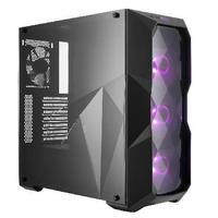Gabinete Gamer Cooler Master MasterBox TD500 sem Fonte, Mid Tower, USB 3.0, 4 Fans RGB, Preto - MCB-D500D-KANN-S00