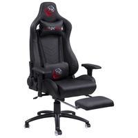 Cadeira Gamer Pcyes Mad Racer V12, Reclinável, Preta