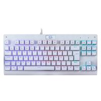 Teclado Mecânico Gamer Redragon Dark Avenger Branco Switch Outemu Brown RGB ABNT2 K568W-RGB (BROWN)