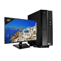 Mini Computador ICC, Intel Core I3, 4gb, HD 240GB SSD, Kit Multimídia, Windows 10 - SL2347K
