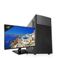 "Computador ICC Intel Core I3 3.20 ghz, 4GB, HD 120GB SSD, Kit Multimídia, Monitor LED 19.5"", HDMI FULLHD - IV2346KM19"