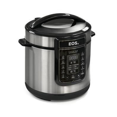 Panela De Pressão Elétrica Eos Multicooker Digital 6L, Inox 220V - Epp60di