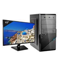 "Computador ICC Intel Core i5 3.20Ghz, 8GB, HD 120GB SSD, HDMI FULL HD, Monitor 15"" LED - IV2586SM15"