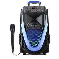 Caixa de Som Multilaser Amplificada Sunny II 800W, Com Microfone - SP396