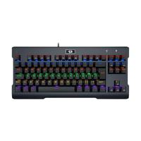 Teclado Mecânico Gamer Redragon Visnu K561R-2 Rainbow Switch Blue PT com fio