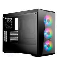 Computador Pc Gamer Fácil Intel Core I7 10700F Décima Geração, 8GB DDR4, GTX 1050TI 4GB, SSD 240GB, Cooler Master