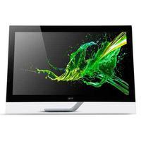 Monitor Acer Tela 23´´ De Vidro Touch, Led Fhd Com 100 Milhões :1 De Contraste - T232hl-a