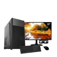 Computador Corporate I3 6gb de Ram Ssd 120 Gb Kit Multimidia Monitor 19