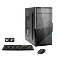 Computador Corporate I3 4gb Hd 2tb Dvdrw Kit Multimídia Windows 10