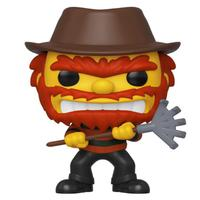 Evil Groundskeeper Willie 824 - The Simpsons Treehouse Of Horror Exclusive Nycc 2019 - Funko Pop Television
