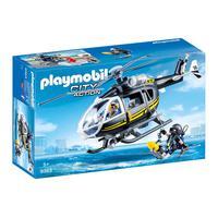 Playmobil Unidade Tatica Com Helicoptero Sunny