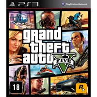 Grand Theft Auto V  Br - Ps3