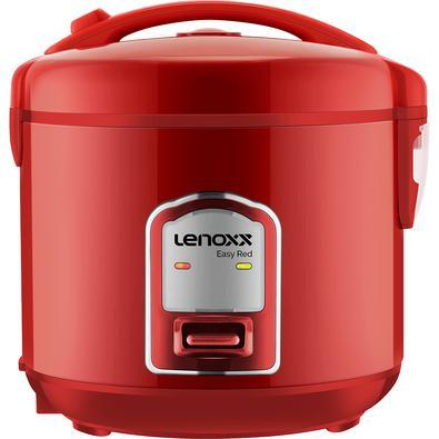 Panela Elétrica De Arroz Lenoxx Multifuncional Easy Red 127V - PMA177