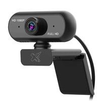 Webcam Maxprint 1080p Alta Resolução Hd 1080p Cmos Sensor Mjpg & Yuy2 60000058 Preto
