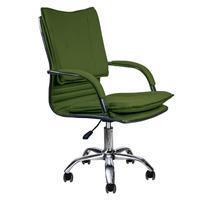 Cadeira Escritório Show de Cadeiras Executiva Desenho Italiano