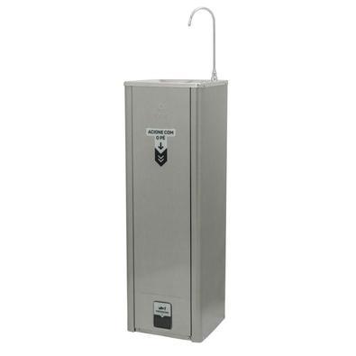 Bebedouro Purificador De Água Ibbl Refrigerado Acionamento Pelos Pés Prata 127v - 127v
