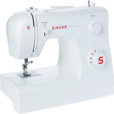 Máquina De Costura Singer Tradition 2250 Branca Uso Doméstico 220v