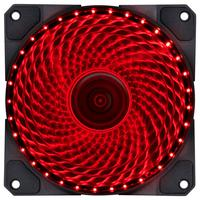 FAN/COOLER, VX Gaming, V.lumi, 33 Pontos de LED, 120X120, Vermelho