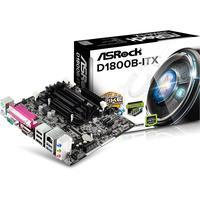 Placa Mae Asrock Mini Itx - D1800b-itx - Com Intel Celeron Dual-core