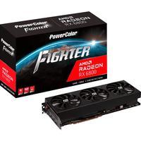 Placa De Vídeo Power Color Rx 6800 Fighter 16gb Gddr6  - Axrx6800-16gbd63dhoc