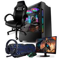 Pc Gamer Completo Neologic Start Nli81836 Amd 3000g 8gb (radeon Vega 3 Integrado) 1tb + Cadeira Gamer.