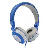 Fone De Ouvido Com Microfone Moove Maxprint Dazz Cinza E Azul