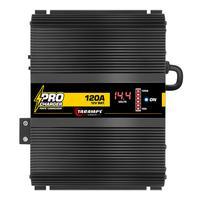 Carregador de Bateria Fonte Automotiva Taramps Procharger 120A Bivolt com Voltímetro 12V - PRO 120A