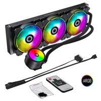 Water Cooler Argb 3 Fan +contr Remoto Ice Chill 360 Gamemax