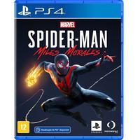 Jogo Marvel Spider-man: Miles Morales - Ps4