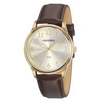 Relógio Masculino Mondaine Analógico Marrom - 83470gpmvdh1 - Unico