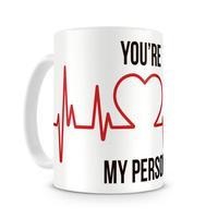Caneca Greys Anatomy You Are My Person