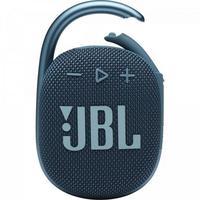 Caixa de Som Ultraportatil Bluetooth CLIP 4 AZUL JBL