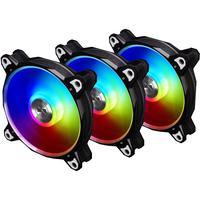 Kit Cooler Com 3 Fan Lian Li Bora Digital Black Rgb 120mm - Br Digital-3r B