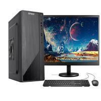 "Computador Completo Fácil by Asus, Intel Core I3 10100F Décima Geração, 4GB DDR4, GT210 1GB, HD 500GB c/ Monitor 19"""