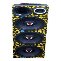 Caixa Ativa 3 Woofer Radio Bluetooth Usb Residencial Taramps Caixa Emoji 3 Woofer Compet