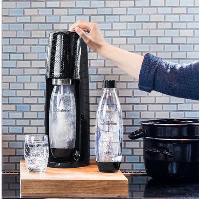 Máquina para Gaseificar Água Sodastream Fizzi Preta