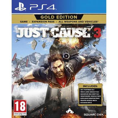 Jogo Just Cause 3 Gold Edition - Playstation 4 - Square Enix