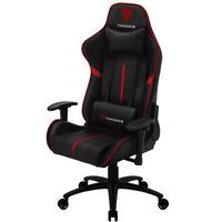 Cadeira Gamer Office Giratória Com Elevação A Gás Bc3 Preto Vermelho  - Thunderx3