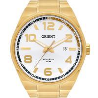 Relógio Orient Masculino Neo Sports Analógico Dourado Mgss1134-s2kx