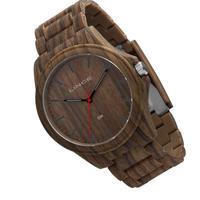 Relógio Masculino Lince Estilo Madeira 50m Mrp4612p-n1nx
