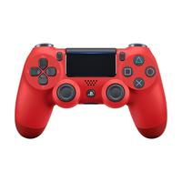 Controle Sony Dualshock 4 Magma Red Sem Fio com Led Frontal - Ps4