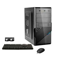 Computador Corporate I3 4gb Hd 500gb Kit Multimídia Windows 10