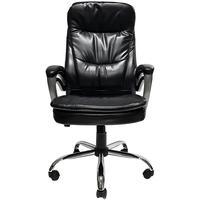 Cadeira Presidente Deluxe Giratoria Preto