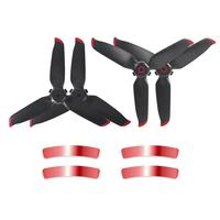 Kit De Hélices Para Drone Dji Fpv - Sunnylife Cor Vermelho