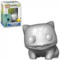Boneco Funko Pop Pokemon Bulbasaur Silver 453