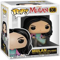 Boneco Funko Pop Disney Mulan Live Mulan Villager 638